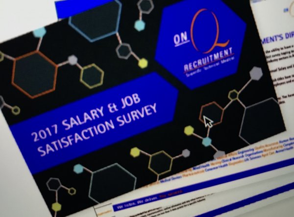 Salary survey reveals the latest on life sciences sector